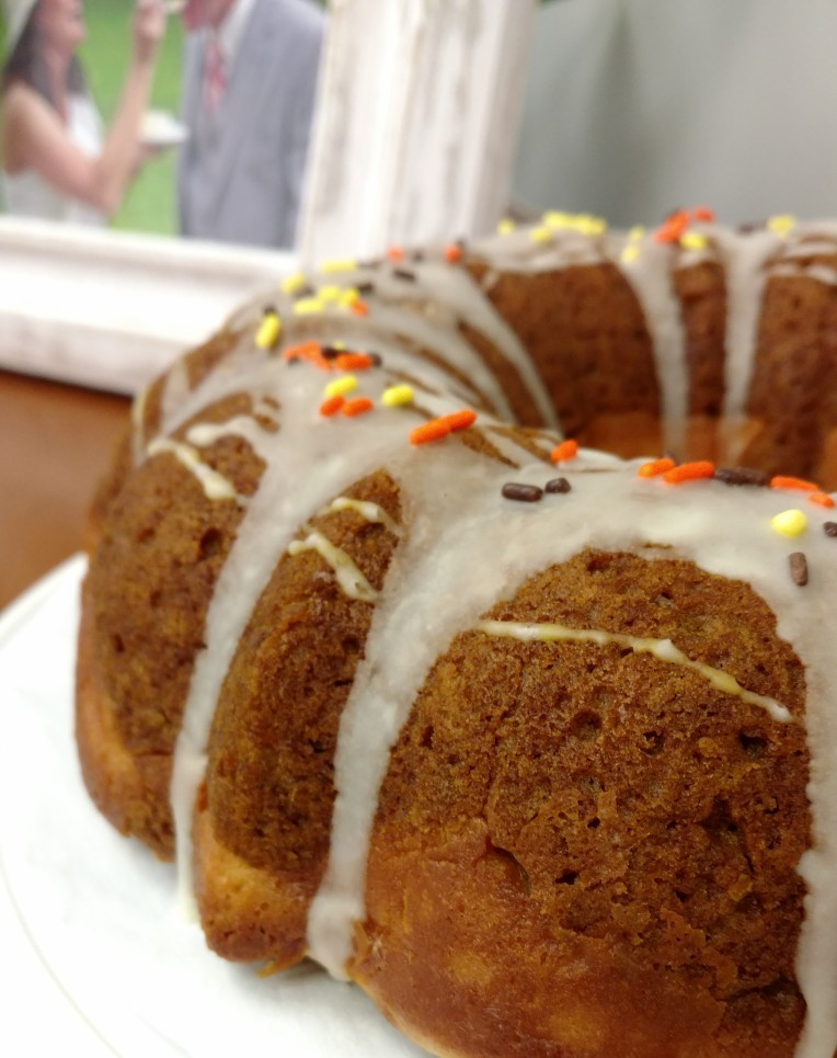 Side View - Pumpkin Bundt